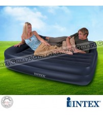 INTEX Extra Double Inflating Airbed with built-in pillow