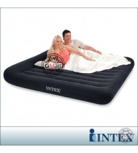 Intex Double Inflating Airbed with built-in pillow