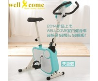 Wellcome Magnetic Fitness bike (Sky Blue)
